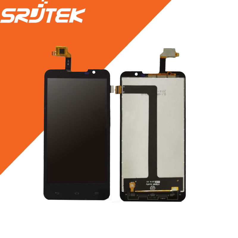 High Quality LCD Display + Touch Screen digitizer Full Assembly 5.0 For GoClever Insignia 5x Black<br><br>Aliexpress