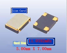 10PCS-100PCS Passive Patch Crystal 5070 7050 4 Pin 4P Resonator 11.0592M 11.0592MHZ(China)