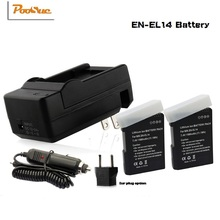 Buy 2Pcs EN-EL14 ENEL14 EN EL14 Batteries bateria AKKU + DC Charger +can adapter Nikon D5200 D3100 D3200 D5100 P7000 P7100 for $32.99 in AliExpress store