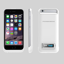 LED display for iPhone 6 6s 3200mAh Rechargeable External Battery Charger Case Cover Pack Power Bank for Apple iPhone6 6S(China)