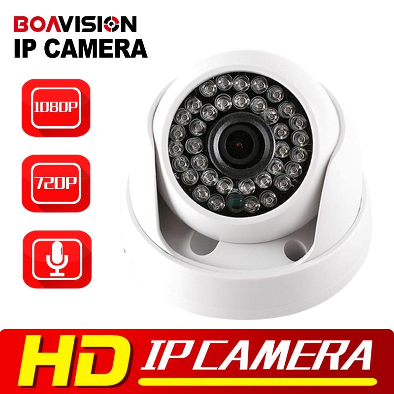 BOAVISION CMOS 720P 1080P IP Dome Camera Audio WIFI Optional IR 20M Night Vision 3.6mm Lens 1.0MP 2MP Security CCTV Camera P2P<br><br>Aliexpress