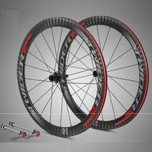 Buy New Bicycle wheelset 700C 12K carbono racing road bike wheels 50mm depth Tubular Clincher carbon bicycle rim wheels Wheelset for $752.00 in AliExpress store