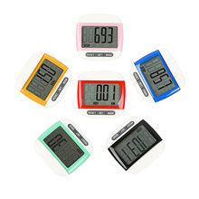 Mini Portable Step Counter Run Walking Digital LCD Pedometer Step Counter Distance Calorie Counter