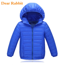 3-14Y kids Ultra light down jacket for girls white down parkas 90% down autumn winter warm children coat big boys girls clothes