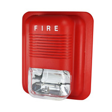 Free Shipping 2pcs/Lot CJ-SS109 24V Fire Alarm Siren Strobe Siren For Fire Alarm System With Sound and Light Flash