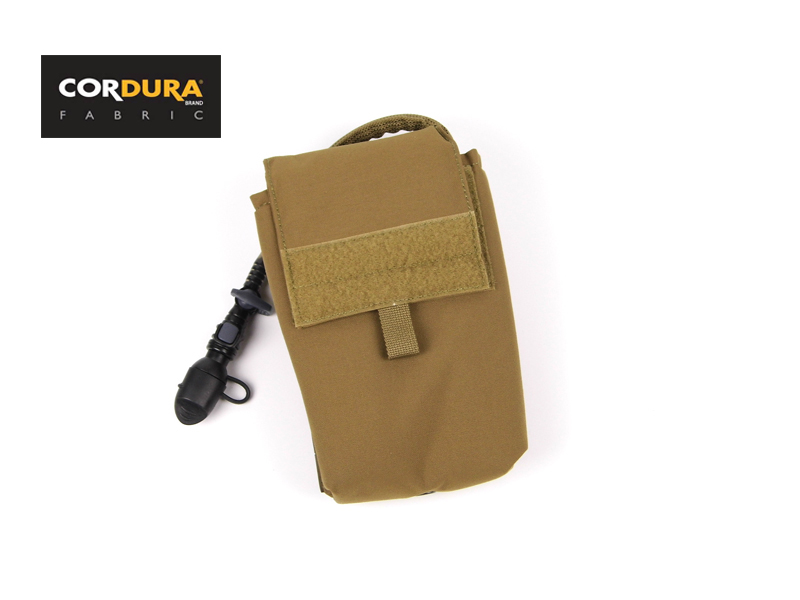 Insulated 27OZ Hydration Pack Coyote Brown MOLLE Military Tactical Hydration Pack+Free shipping(XTC050396)<br>