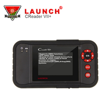 [Authorized dealer] LAUNCH Creader VII+OBDII Auto Code Scanner Creader 7+ obd2 scanner Support 4 Systems