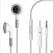 3.5mm in-ear earphones stereo headset wire control headphone with mic for iphone 4s  5s 6s
