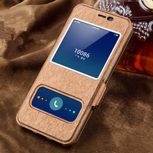 Meizu M3S Case High Quality Window PU Leather Case Cover For Meizu M3S M3 Mini With Phone Rope#0726
