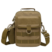 Multifunction Men Nylon Military Shoulder Messenger Male Chest Bag Back Pack Riding Travel Water Bottle/Kettle Tote Bags Handbag