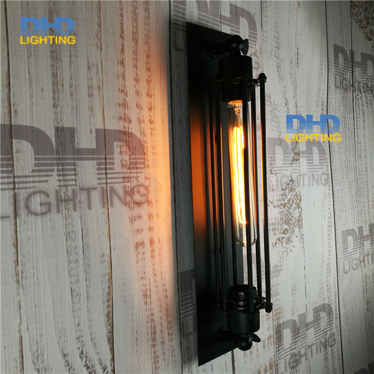 Vintage Industrial Lighting E27 110-220V American style Louis Poulsen scone light wall lamp vintage iron loft flute wall lamps<br><br>Aliexpress