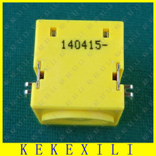 Genuine cheap yellow for IBM LENOVO THINKPAD IDEAPAD 3000 V100 V200 E420 N220 n220g laptop dc power jack free shipping P/N pj221