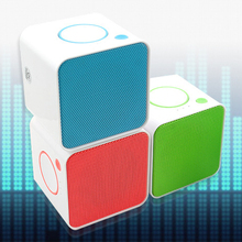 SHOOT Small square wireless bluetooth speaker Mini subwoofer Speaker Portable bass sound Music A2DP AVRCP For Laptop Phone