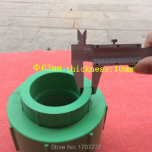Size 63mm PPR flexible connection  pipe fitting joint Pipe coupling PPR Pipe Fitting