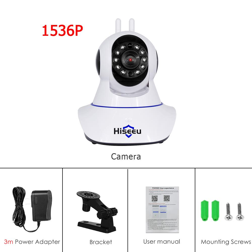 Hiseeu 1536P WIFI Camera