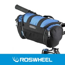 2 Colors Roswheel Utility Bicycle Bags 5L Bike Handlebar Bag Bicycle Front Tube Pocket Shoulder Pack Riding Cycling Supplies