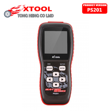 100% Original X TOOL Xtool PS201 PS 201 PS-201 Heavy Duty CAN OBDII Code Reader DHL Free
