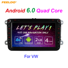 "8inch Android 6.0 (64bit) DDR3 2G/16G/4G LTE 8""Quad Core Car DVD GPS Radio For VW Golf 5/6/Polo/Passat/Jetta/Tiguan/Touran"