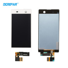 Buy New Black White Sony Xperia M5 Dual E5603 E5606 E5653 LCD Display Digitizer Touch Screen Assembly Replacement Parts for $23.30 in AliExpress store
