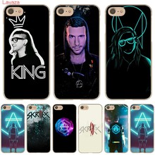 Жесткий чехол Lavaza Skrillex для Apple iPhone 6 6s 7 8 Plus 4 4s 5 5S SE 5C для iPhone XS Max XR(China)