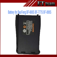 New Two-way Baofeng BF-888S 3.7V 1500mah recharger battery for two way radio BF-777S walkie talkie BF-666S li-ion battery