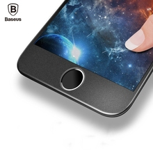 Buy Baseus Premium Screen Protector Tempered Glass iPhone 8 7 Plus Frosted Soft Edge 3D Full Cover Glass Film iPhone 8 Plus for $4.79 in AliExpress store