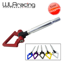 WLRING Free shipping- Billet Aluminum Tow Hook Front&Rear Triangle Ring Towing Hook For Toyota GT86 Scion FRS BRZ 13-15 WLR019