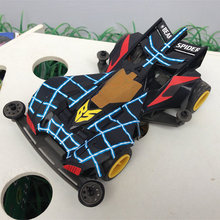 Four-wheel assembly Racing DIY car electric toy car Electric Boy Toys Mini Cars Speed Racing Car Toys Wheel Vehicle Motor