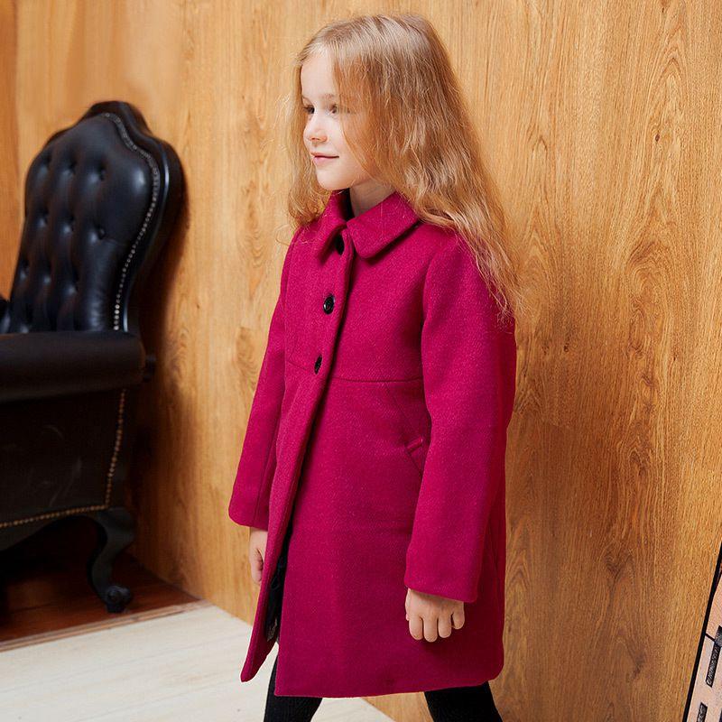 YNB New Winter keep warm children coat and the wind girl coat cotton wool woolen coat thick children<br><br>Aliexpress