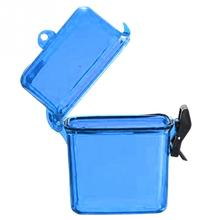 Hot Sale  Key Money Phone Storage Box Case Holder Outdoor Waterproof Plastic Container Case for mobile phone Random Color