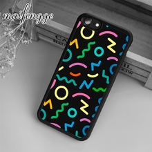 maifengge Hipster Colourful Trendy Printed Case For iPhone 6 6S 7 8 Plus X 5 5S SE Case cover for Samsung S5 S6 S7 edge S8 Plus(China)