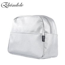Eleindole Women Multifunctional Carriage Bags 18L Baby Care Bag Materniry Silver Female Fashion Backpacks with Stroller Straps(China)