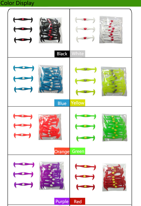 12pcslot Round No Tie Shoelaces Elastic Silicone Shoe Lace Multicolor Design Unisex Women Athletic Running For Shoes (25)
