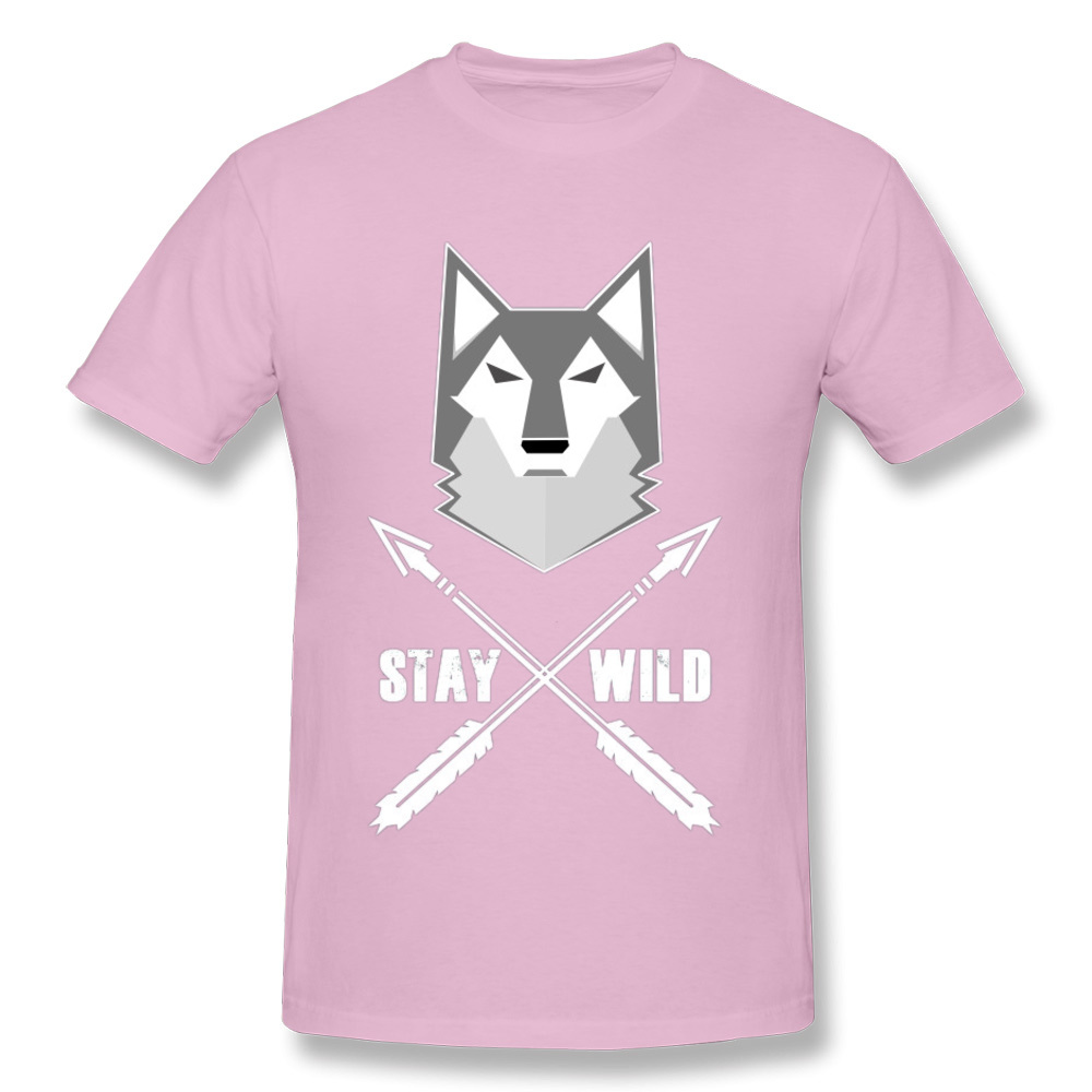 0314WD032 100% Cotton Tops & Tees for Men Casual T-shirts Fashionable Prevailing Crewneck Tops & Tees Short Sleeve 0314WD032 pink