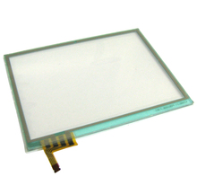 5pcs 8pcs Display Touch Screen For NDSL Game Console Repair Replacement For Nintendo DS Lite Digitizer Glass Touch Panel For DSL