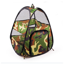 Fashion Camouflage Pet Cat Tent Dog Bed Puppy House Cat Toy Pet Bed Dog/Cat Sleeping Bag Small Dog House For Cat Puppy Blanket