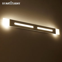 New modern LED wall lamp Stylish bathroom decorative mirror lights Length 40,60,80,100,120cm, 4 pcs purchase discount 35%(China)