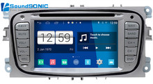 For Ford For Focus 2 Mondeo Kuga S-max C-max Android 4.4.4 S160 Automotivo Car PC Auto Monitor Car Radio CD DVD GPS Autoradio