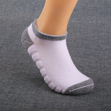 Free Shipping 5pairs/lot Man's pure cotton Fashion ankle Socks men sox high qualtiy casual big size thick sock summer spring(China)