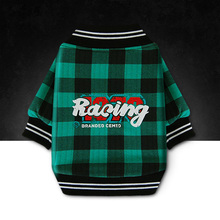 New Autumn Winter Dog Apparel Pet Jacket Coat Parkas Warm Plaid Style Teddy Chihuahua Puppy Cotton-Padded Pet Clothes Supplies