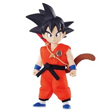 12cm Dragon Ball Z  SON GOKOU Goku PVC Action Figures Toys DOD Anime Dragonball Z Figures YOUNG VER.Action Toy With Color Box