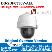 HIK DS-2DF6336V-AEL HIK PTZ Camera 3MP High Frame Rate Smart PTZ Camera Hi-PoE H.264/MJPEG IP67 IK10(China)