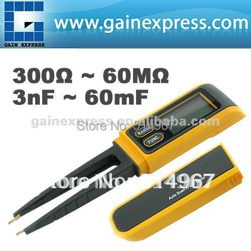 Digital Manual and Auto-Scan Resistance RCD Capacitance Meter Tester Multimeter SMD 5999 Max Non-Magnetic Steel Tips<br><br>Aliexpress