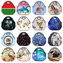 100% Neoprene Waterproof  Insulated Thermal Lunch Bag Lunch Cooler Bag Lunch Box Tote for Women Kids can keep warm ALL-LT2