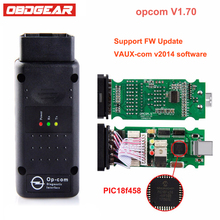 2017 OBD 2 OP com V1.70 for Opel OBD2 Diagnostic-Tool with Real PIC18f458 OP-COM for Opel Auto Diagnostic Scanner Free Software(China)