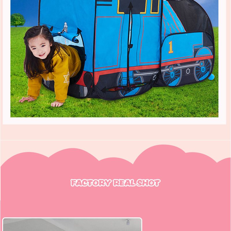 HTB1W41GRFXXXXabXXXXq6xXFXXX6 - The Train Play Vehicle Toy Tent For Children Pop Up Playhouse Kids Game House Child Baby Portable and inflatable Tents