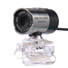 ANC HD Web Camera Night Vision Webcam Notebook Laptop PC Computer USB Free Driver Camera With Microphone Mini Web Cam Webcamera