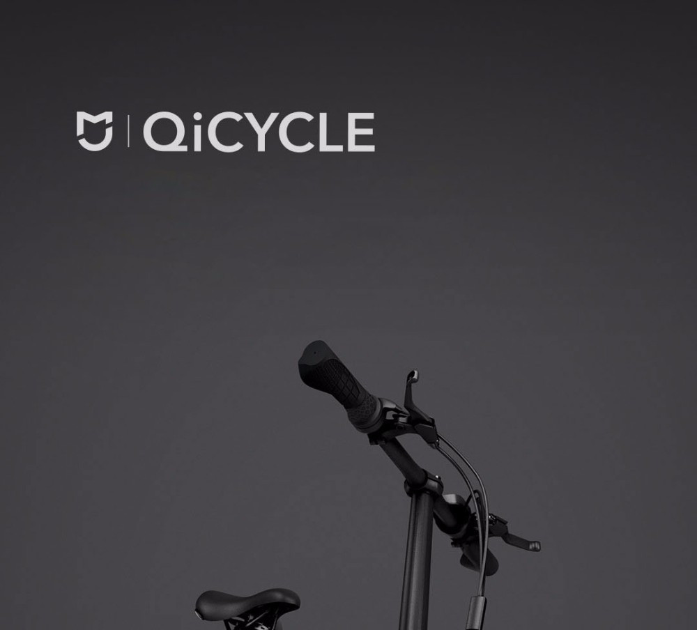 """Original Brand Mi Qicycle 20km/h Foldable Bluetooth 4.0 Phone App Monitor Smart Electric Bicycle With 1.8"""" Screen Bike"""
