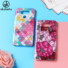 AKABEILA Plastic Phone Cases for LG G6 Cover G6+ H870DS H870 H871 H872 H873 H870K LS993 US997 Case Decal DIY Painted Bag Skin(China)