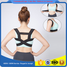 Neoprene Corset Back Brace Posture Corrector Straightener Shoulder for Thoracic Relieves Back Pain